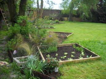 Création d'un jardin à Wambrechies