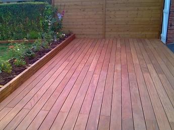 Création d'une terrasse bois à Wattignies